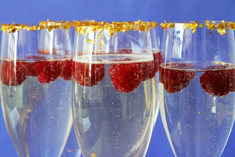 Diy 24 carat champagne