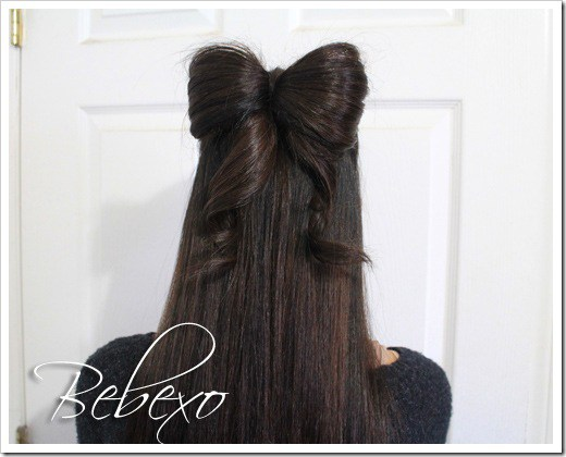 Diy hairbow hairstyle