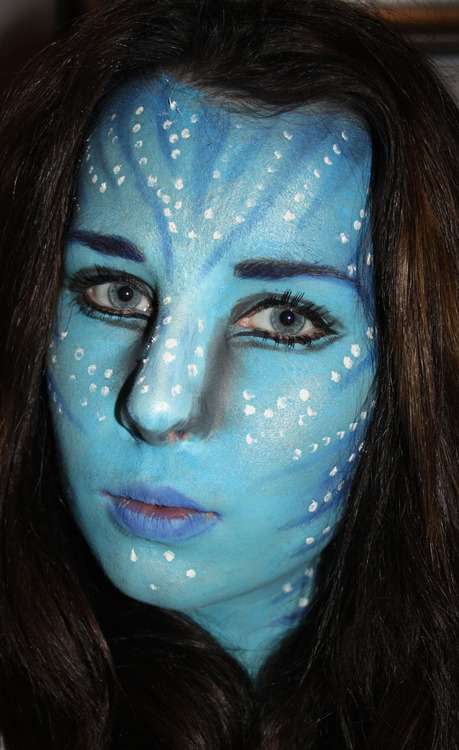 Diy avatar face paint