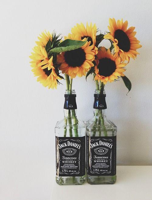 Diy booze vases
