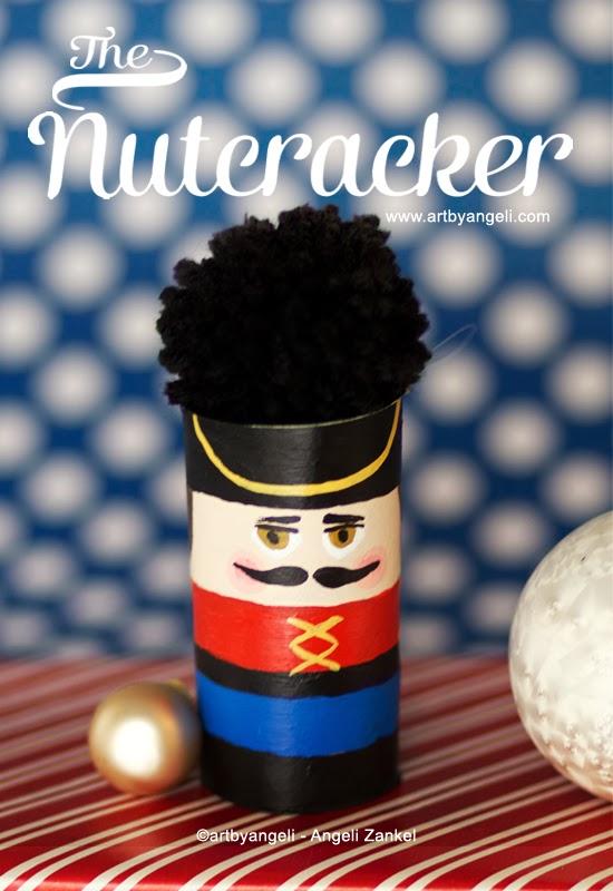 Diy christmas nutcracker ornament