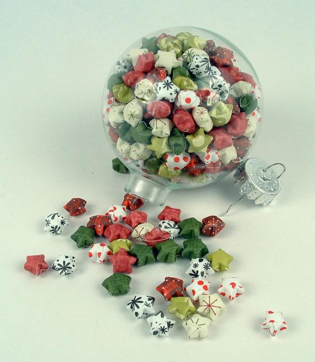 Diy folded lucky stars