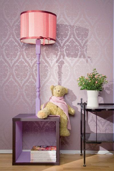 Diy functional floor lamp