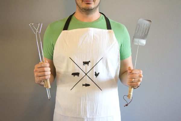 Diy manly apron