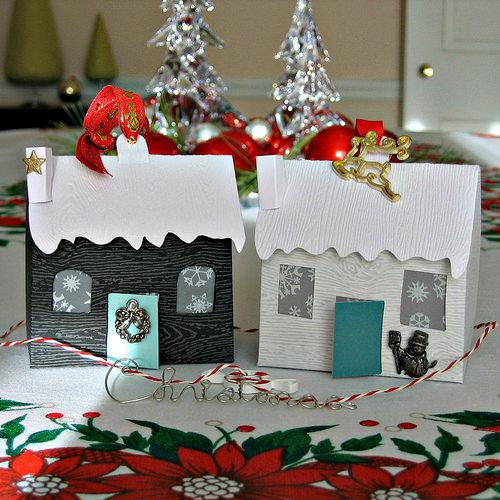Diy paper houses ornament