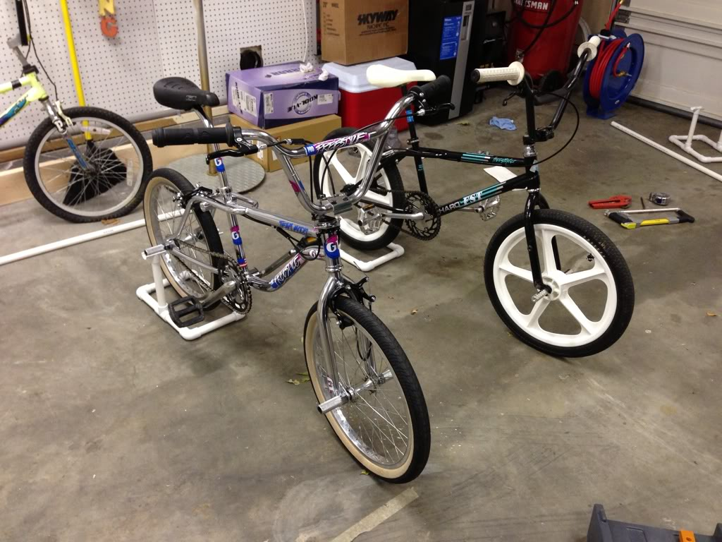 pretty garage ideas - 20 DIY Bikes Racks To Keep Your Ride Steady and Safe