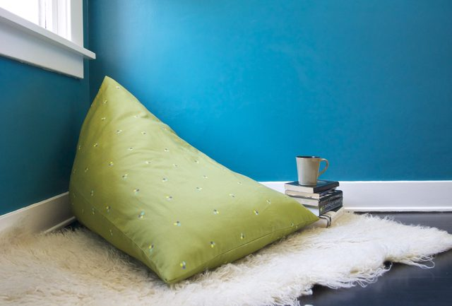 Diy pyramid bean bag chair