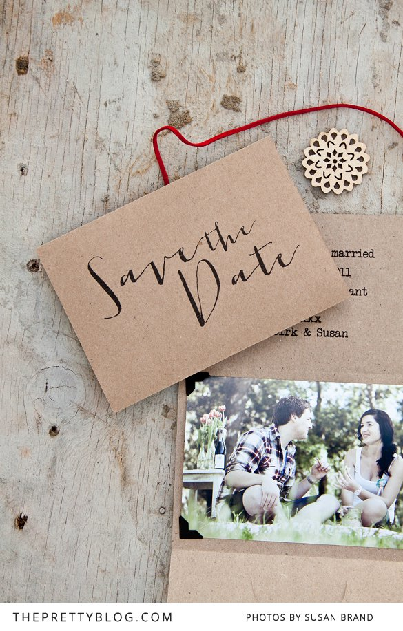25 diy save the dates to start the festivities diy save the date free printables junglespirit Choice Image