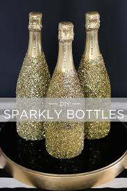 Diy sparkling bottles