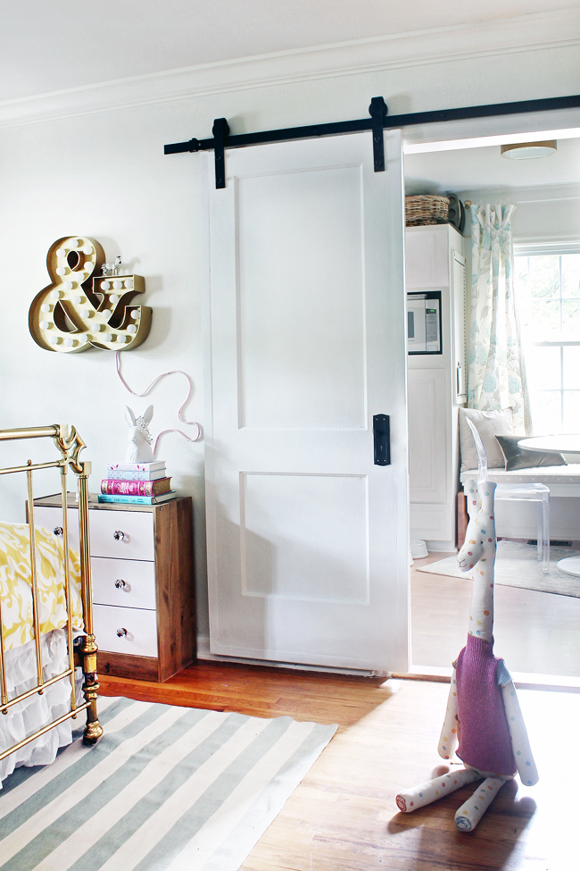 Diy traditional contemporary sliding door