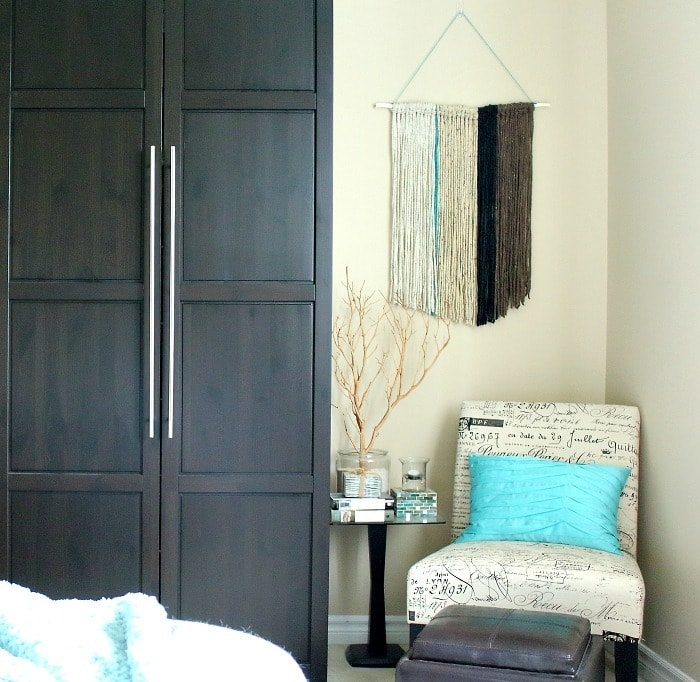 Diy wall hanging uneven