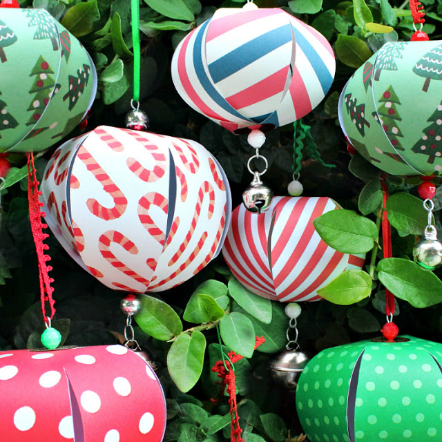 Easy paper ornaments