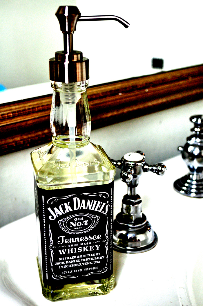Jack daniels soap dispenser