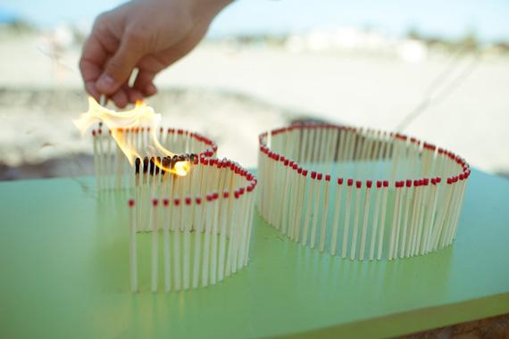 Matchstick candles