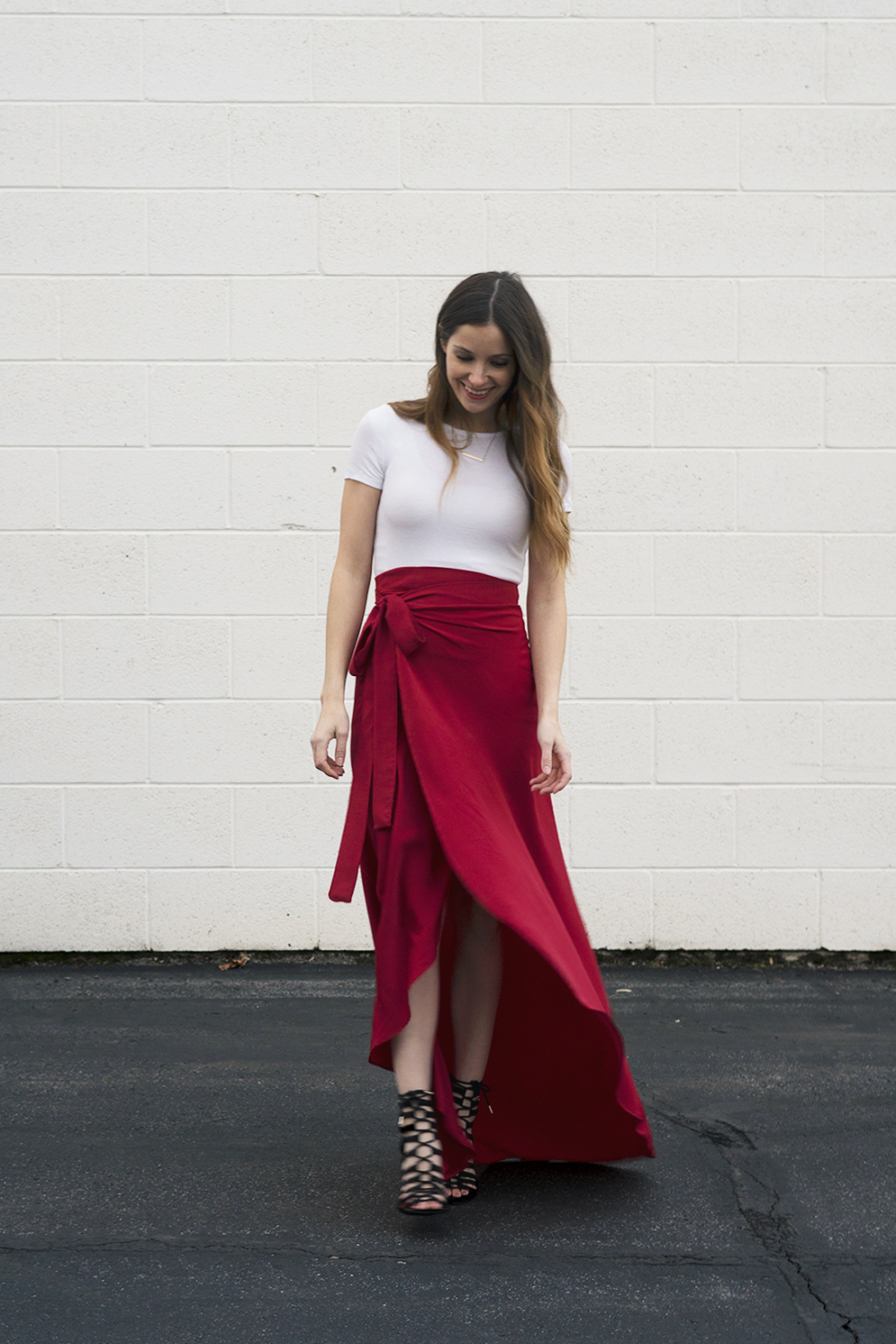 Maxi tulip wrap skirt tutorial
