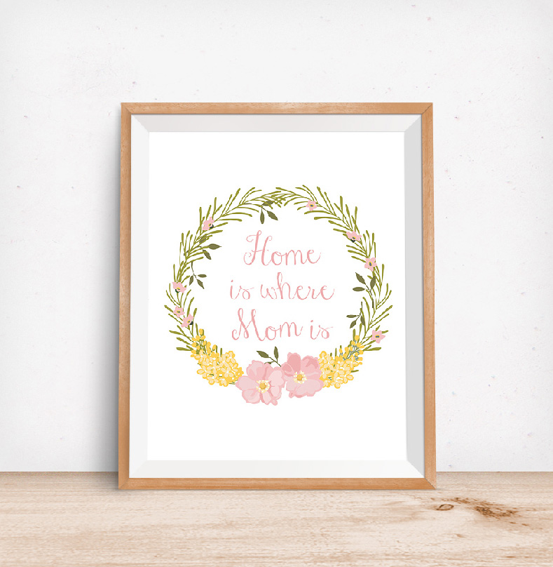 Printable mom art diy