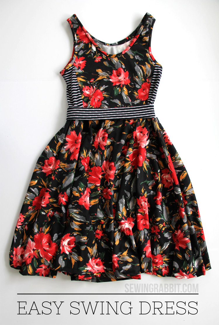 Swing dress sewing tutorial