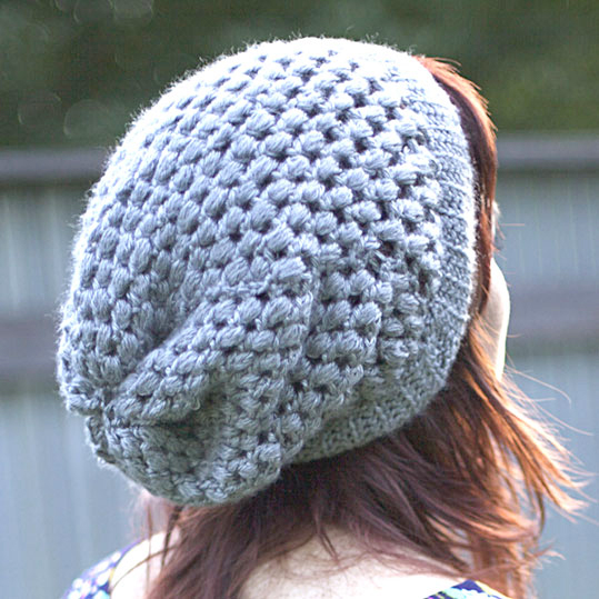 Urban jungle crochet hat pattern