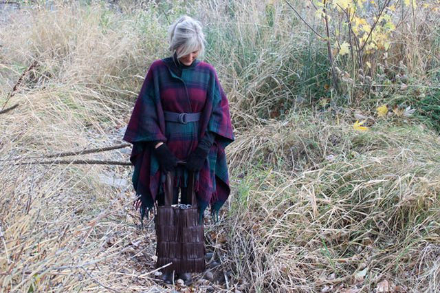 Wool blanket coat diy
