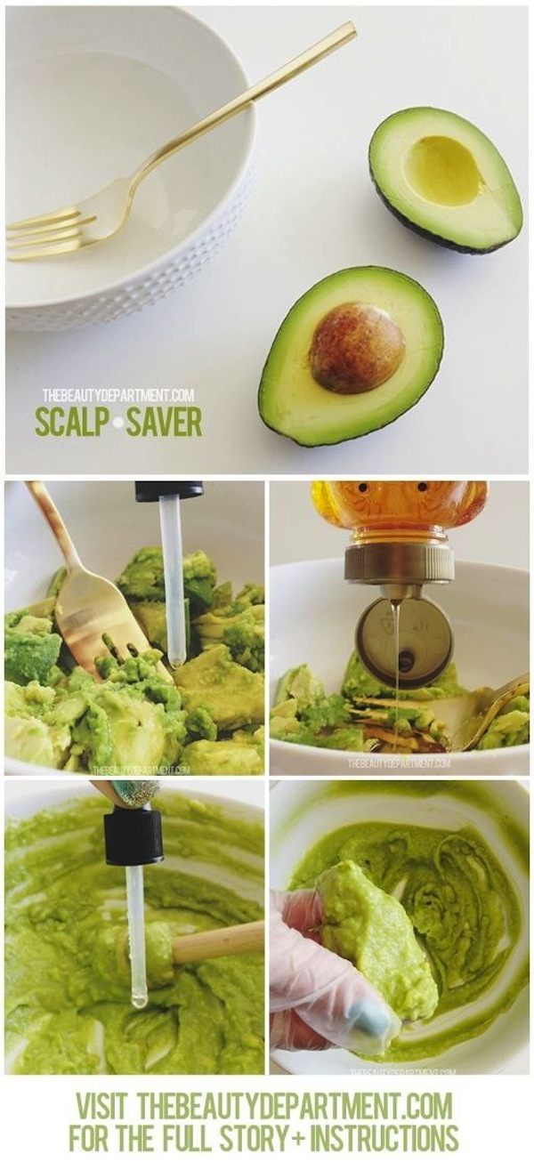 Avocado scalp saver