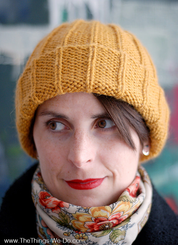 Basic beanie hat pattern
