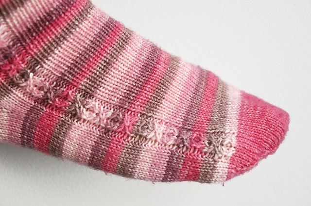 Be my valentine sock