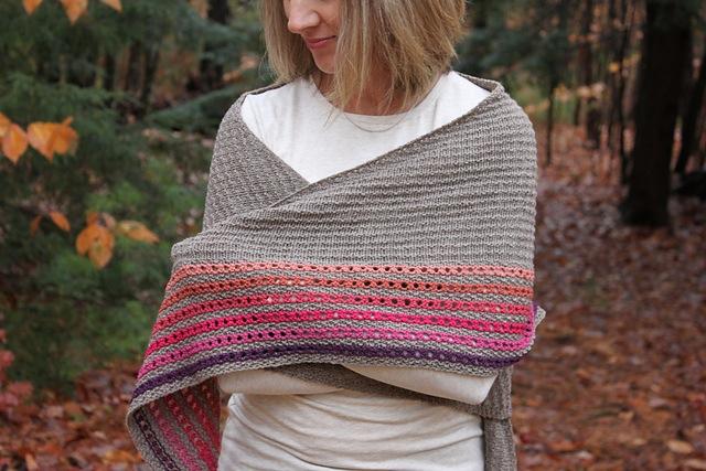 Brownfield shawl