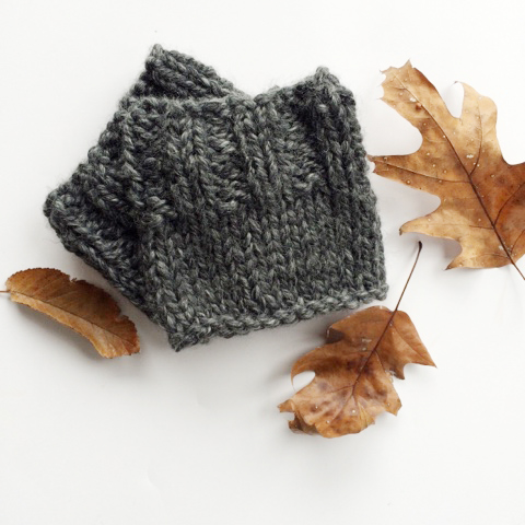 Cozy boot cuffs