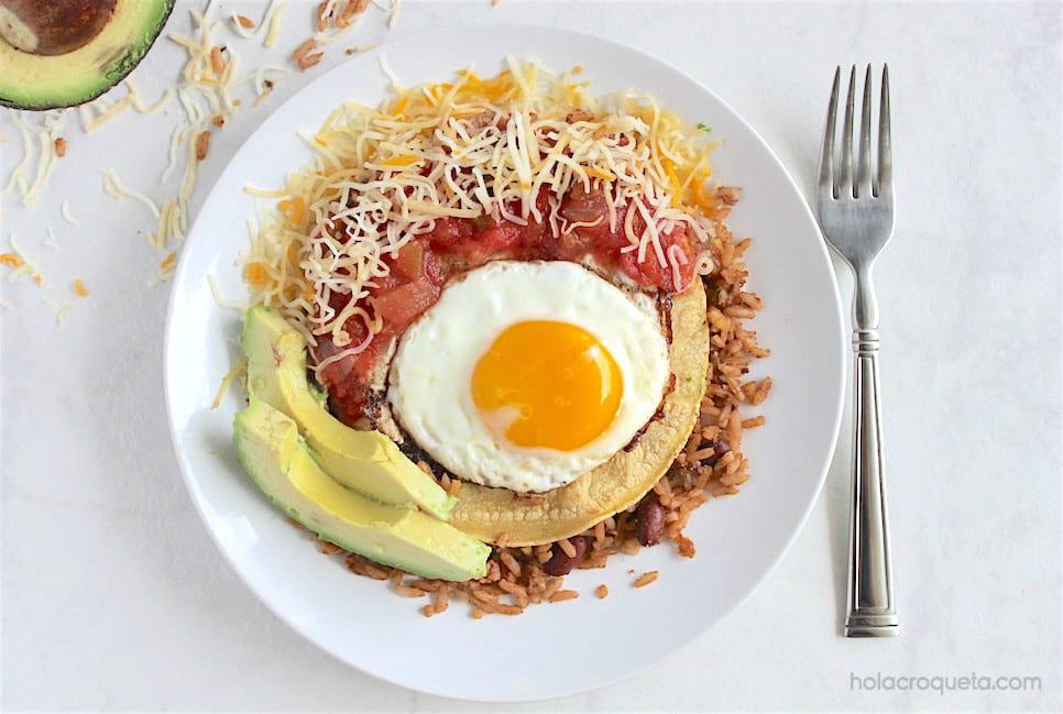 Cuban huevos rancheros