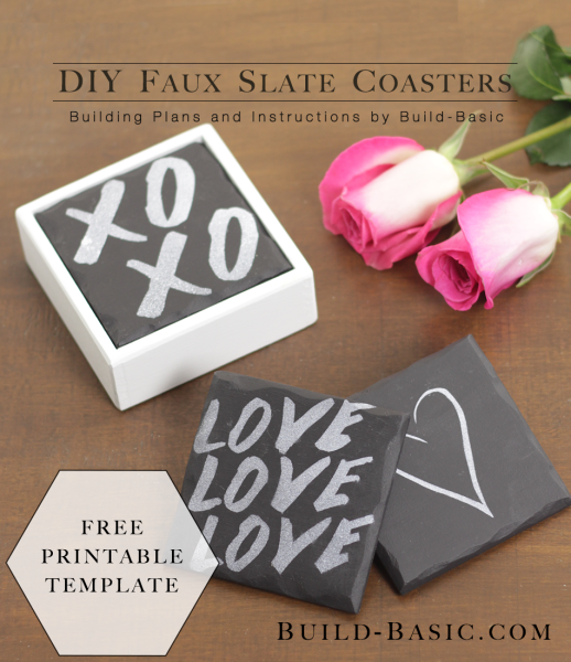 Diy faux slate coasters by build basic project opener image 1 518x600
