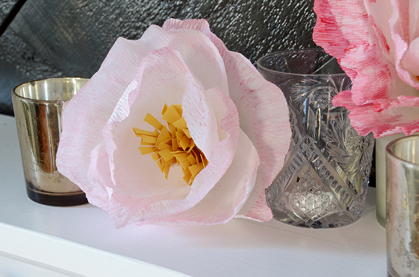 Diy Valentine S Day Paper Flowers