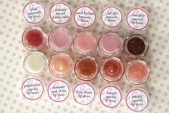 Diy flavoured lip gloss