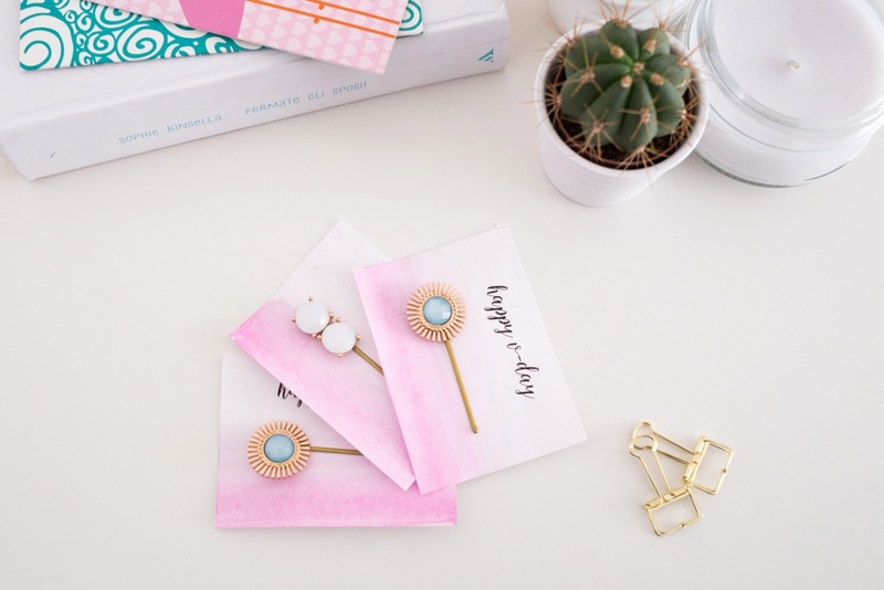 Diy gemstone bobby pins