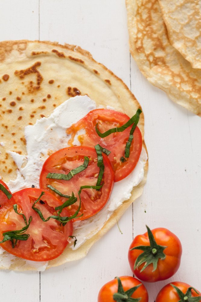 Gf oat crepes with tomato basil and goat cheese 5 of 6 666x1000
