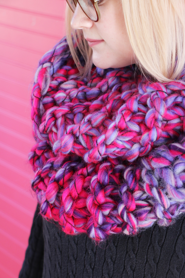 Giant cowl free knitting pattern