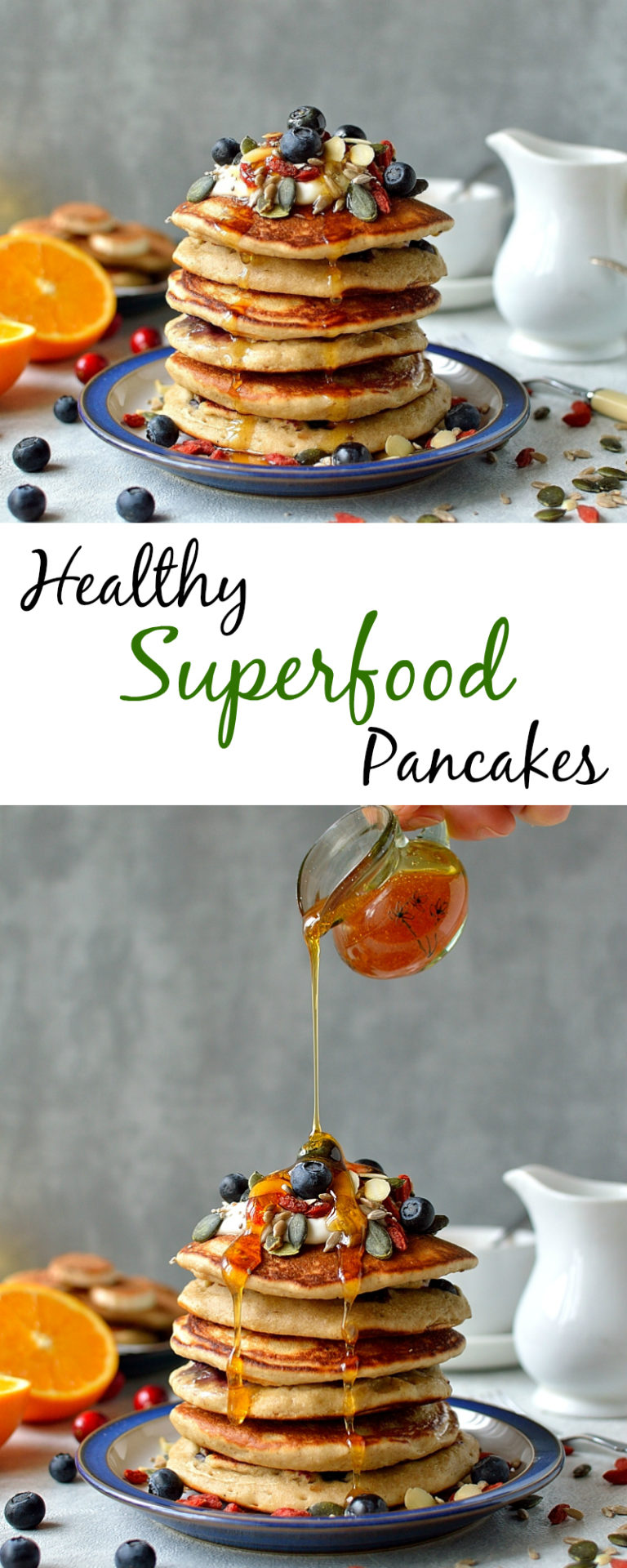 Healthy superfood pancakes delisous recipe