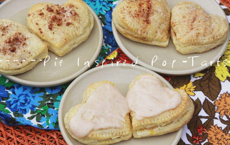 Heart pie poptart recipe