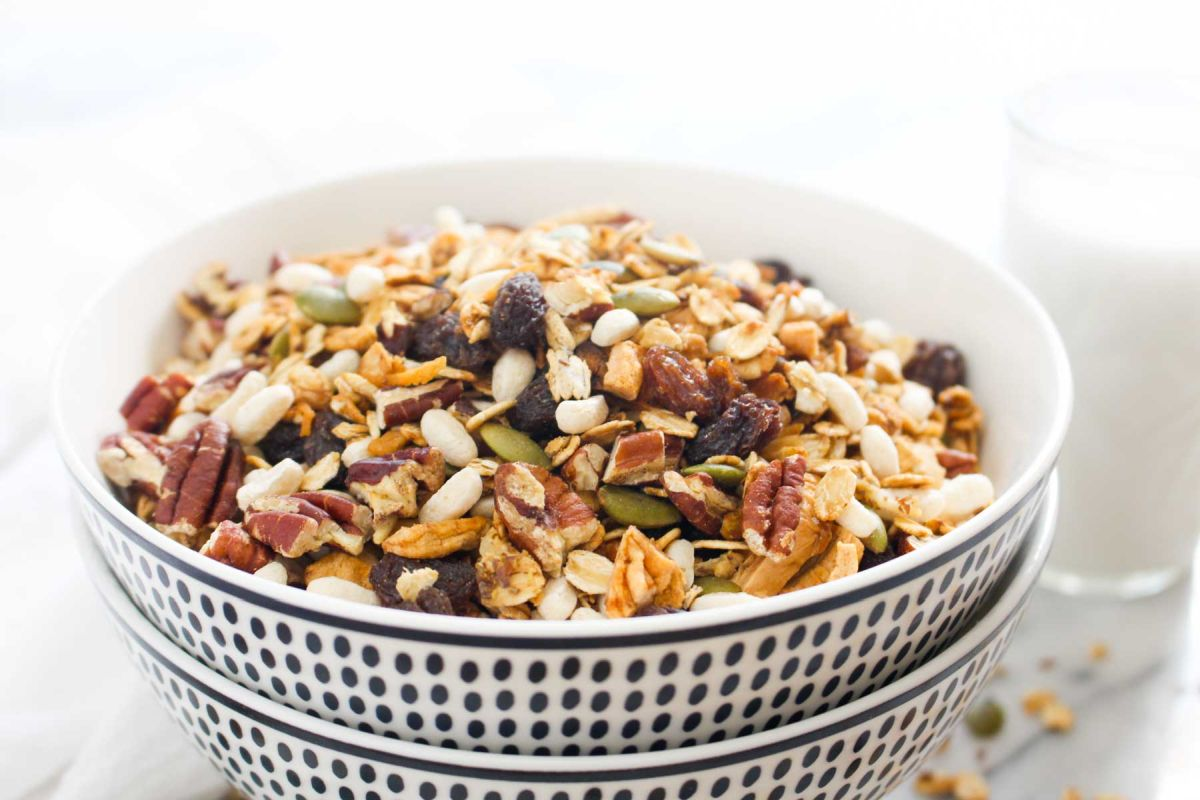 Homemade muesli cereal recipe