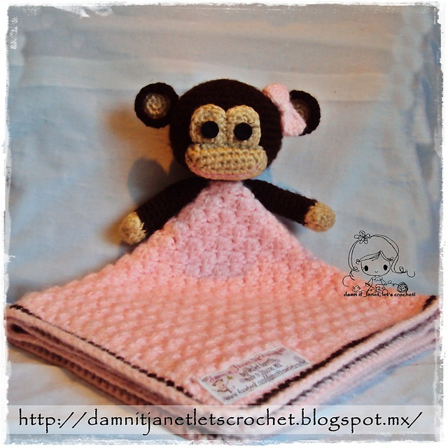 Monkey security blanket
