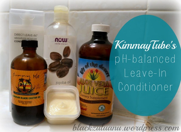 Ph balanced leave in conditioner