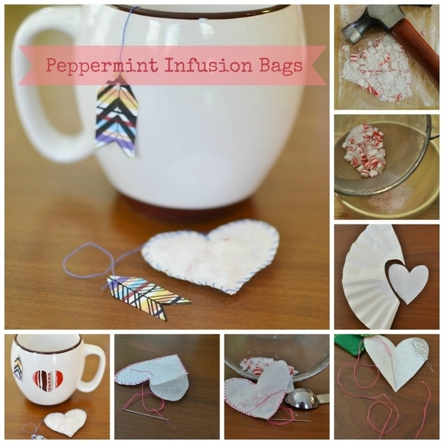 Peppermint infusion bags