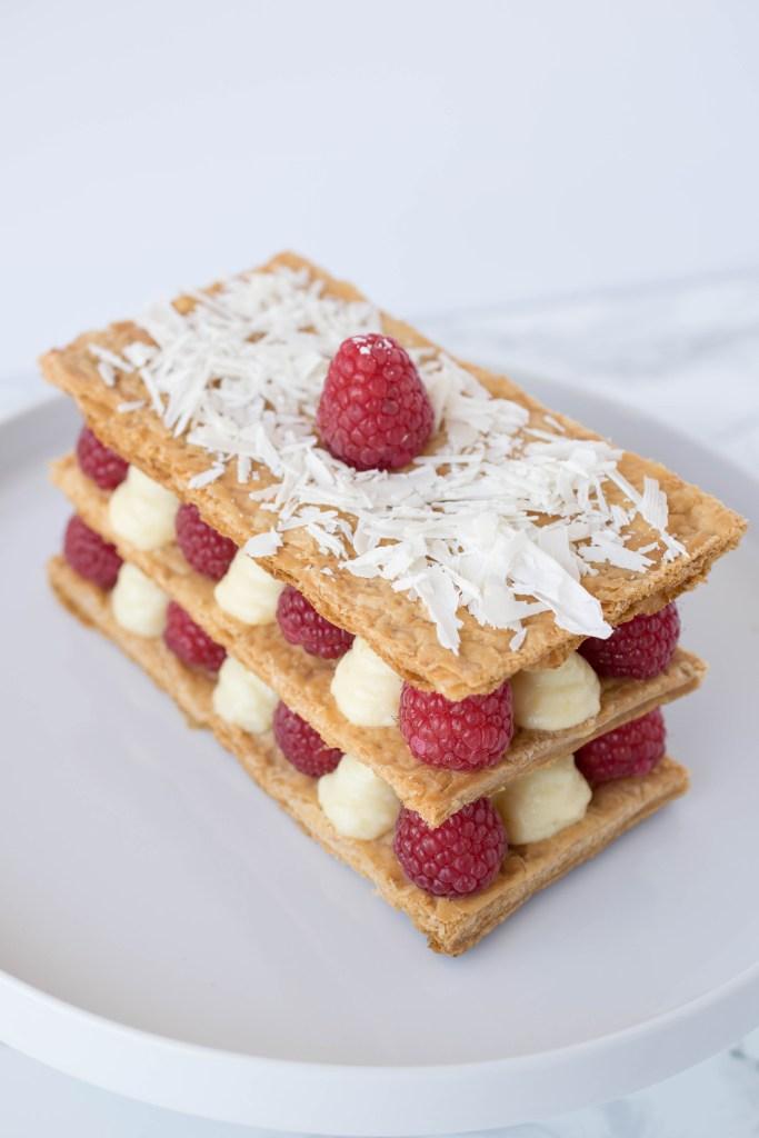 Raspberry napoleon