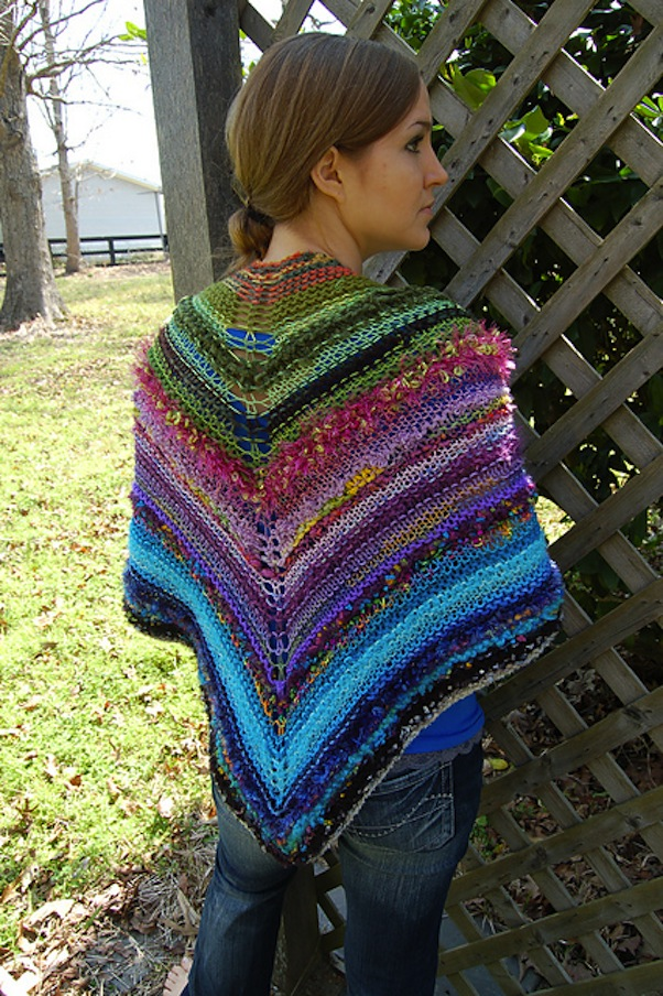 Shawl of many colours