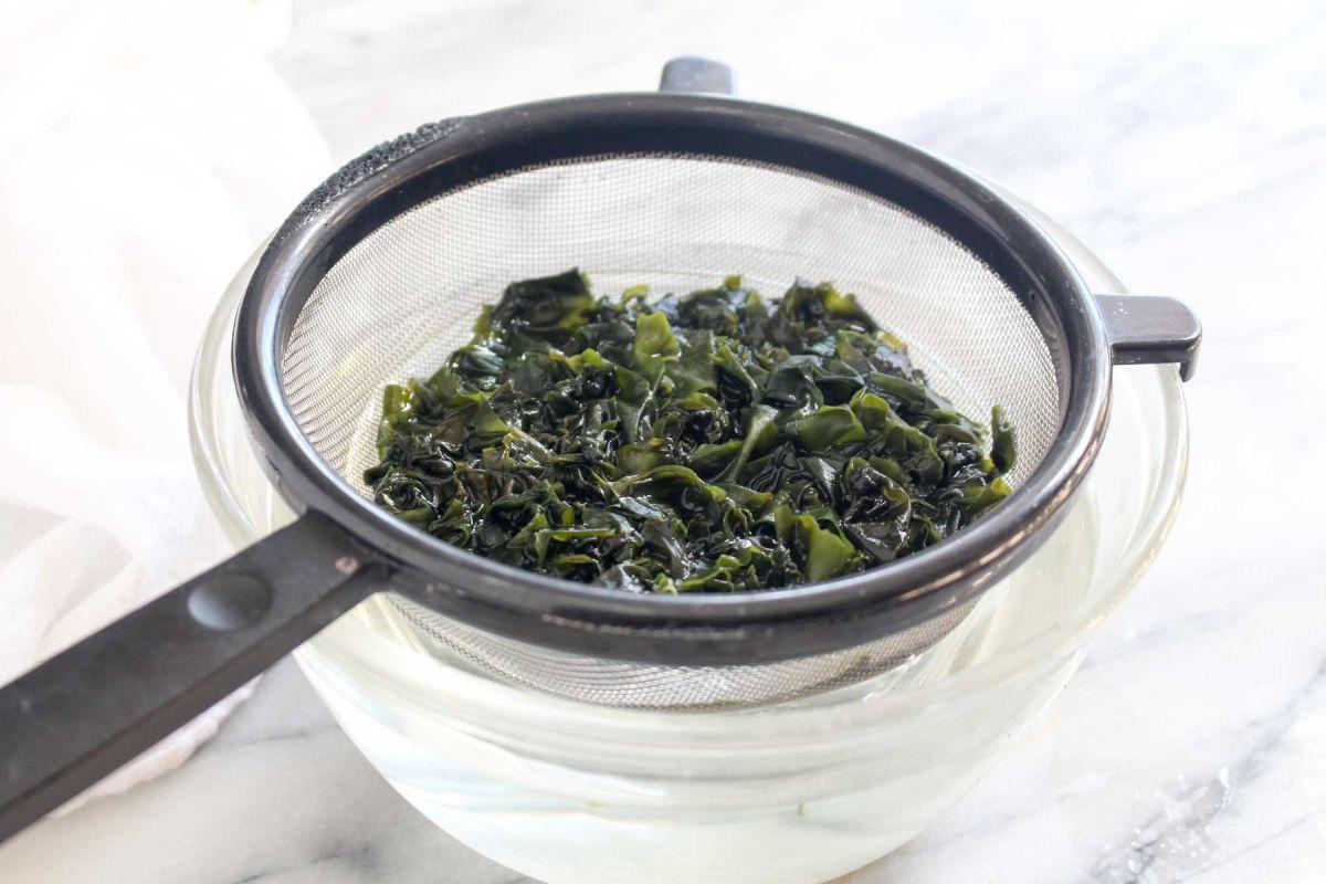 Teriyaki sweet potato rice bowls seaweed arame