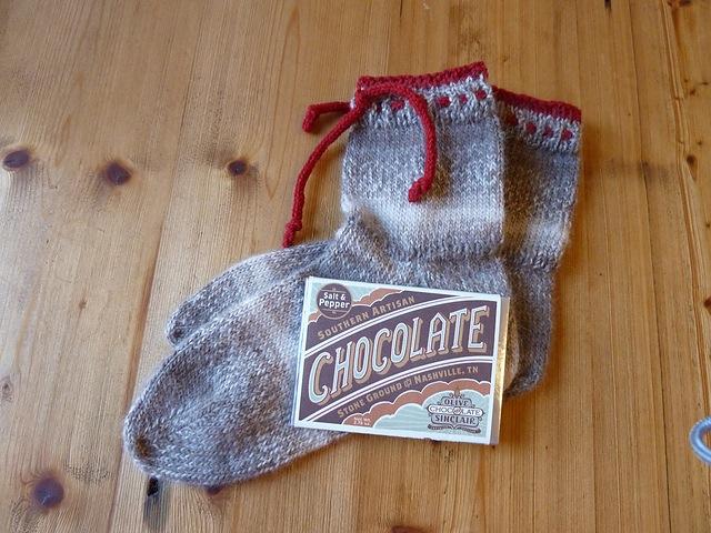 Valentine's day boot socks