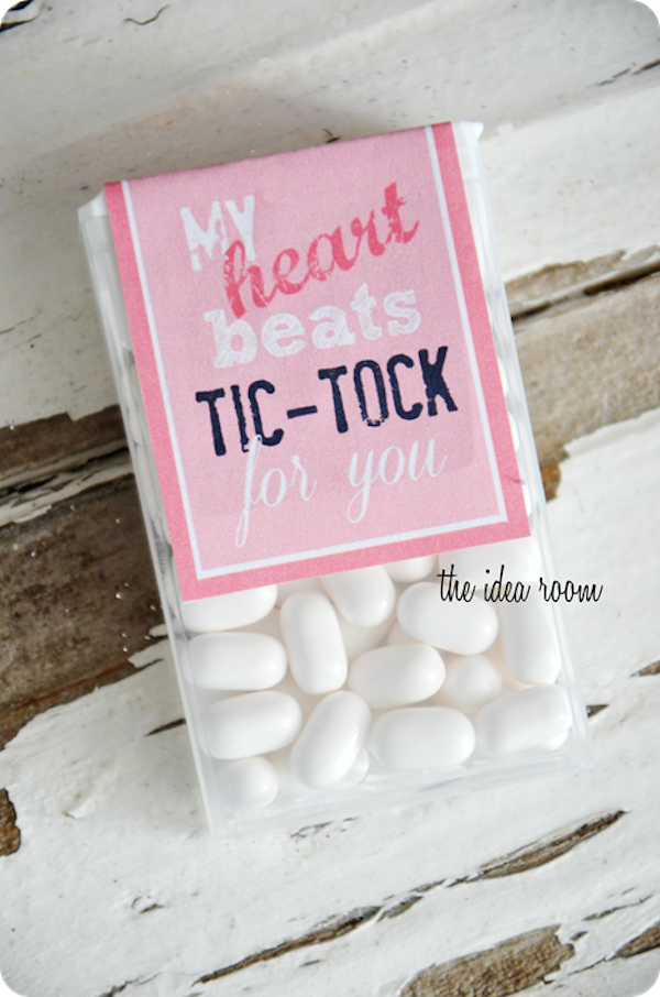 Valentine's day tic tacs