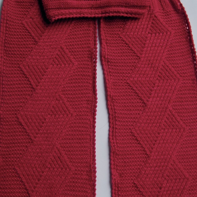 Valentine's day twisted kisses turtleneck scarf