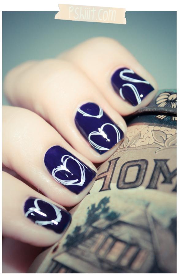Bourjois bleu violet nails