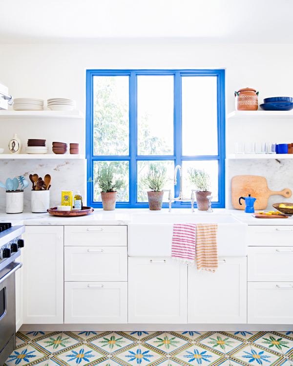 Bright colorful kitchen los angeles