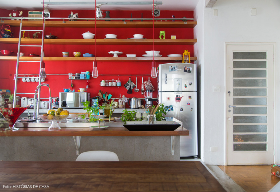 Bright Red Kitchen 25 Colorful Kitchens To